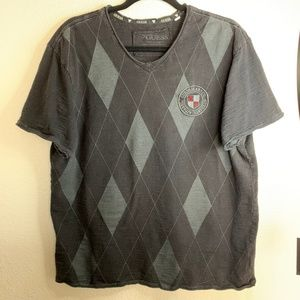 Guess Argyle Crested Shirt